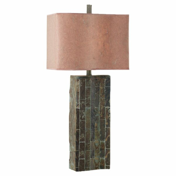 Slateworks Hinsdale Ripple 32 Table Lamp by Wildon Home ®