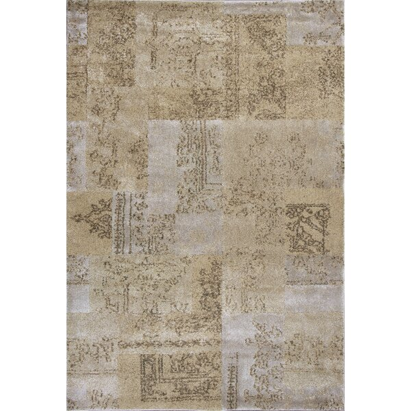 Timeless Champagne Tapestry Area Rug by Donny Osmond Home