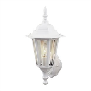 Reviews Oakhill 1 Light Outdoor Wall Lantern By Charlton Home