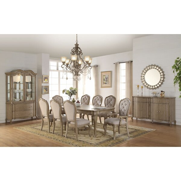 Debora 9 Pieces Extendable Dining Set by House of Hampton