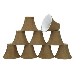 Affordable 6 Linen Bell Candelabra Shade (Set of 9) By Aspen Creative Corporation
