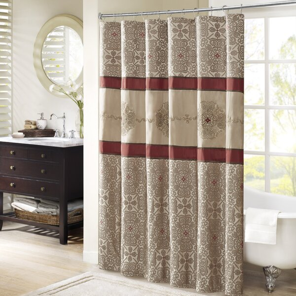 Chambord Shower Curtain by Astoria Grand
