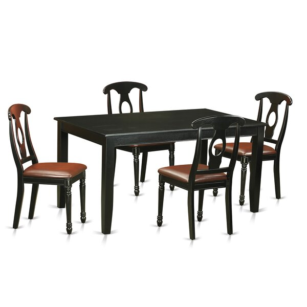 Sisneros 5 Piece Dining Set by Charlton Home