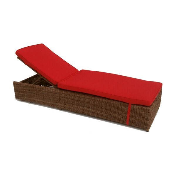 Santa Barbara Reclining Chaise Lounge with Cushions