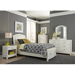 Loveryk Storage Platform Configurable Bedroom Set by Darby Home Co