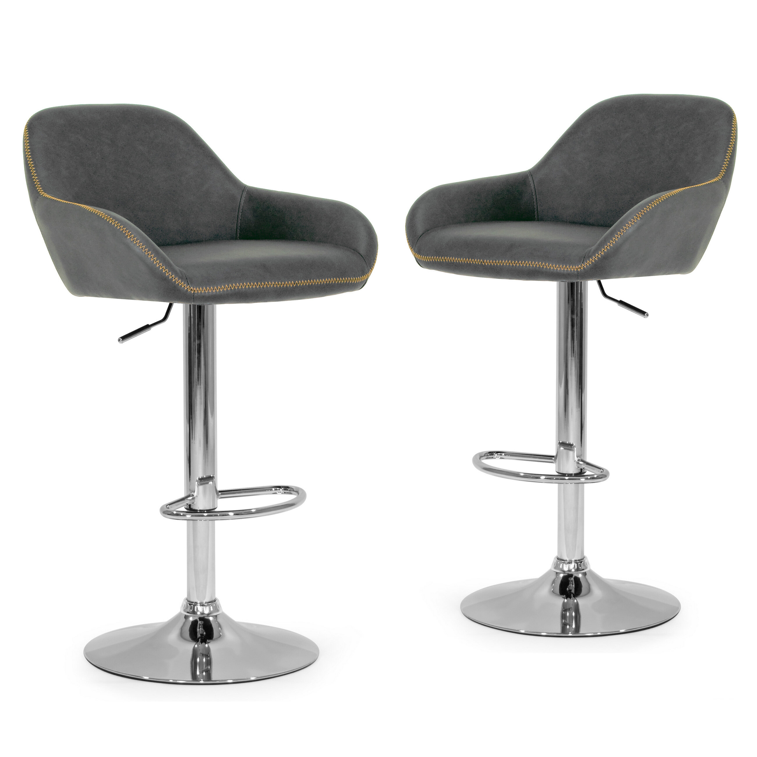 Superb Alan Adjustable Height Swivel Bar Stool Machost Co Dining Chair Design Ideas Machostcouk