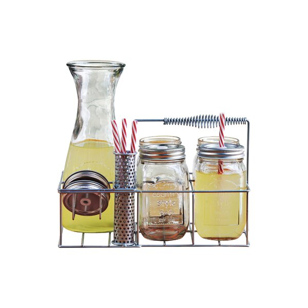 Country 10 Piece Beverage Set by Circle Glass