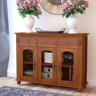 Michigamme 3 Drawer Door Accent Cabinet
