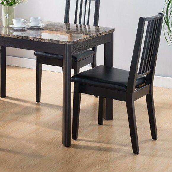 Houseknecht Faux Marble Top Splendid Dining Table by Fleur De Lis Living
