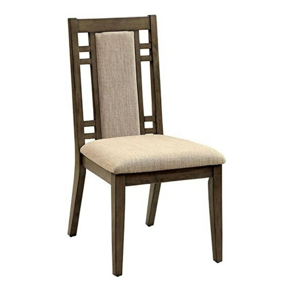 Kinsler Upholstered Dining Chair (Set of 2) by Wrought Studio
