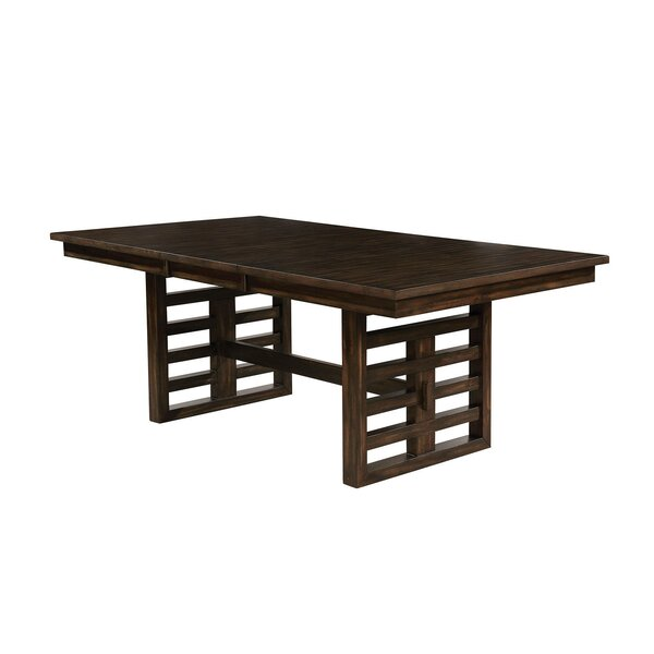 Grattan Solid Wood Dining Table by Canora Grey Canora Grey
