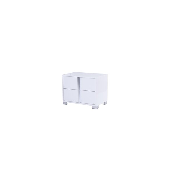 Belfield 2 Drawer Nightstand by Orren Ellis
