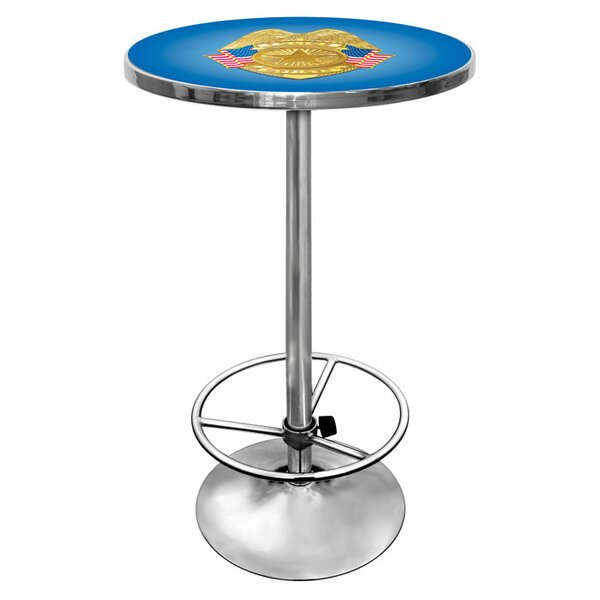 Police Officer Pub Table by Trademark Global
