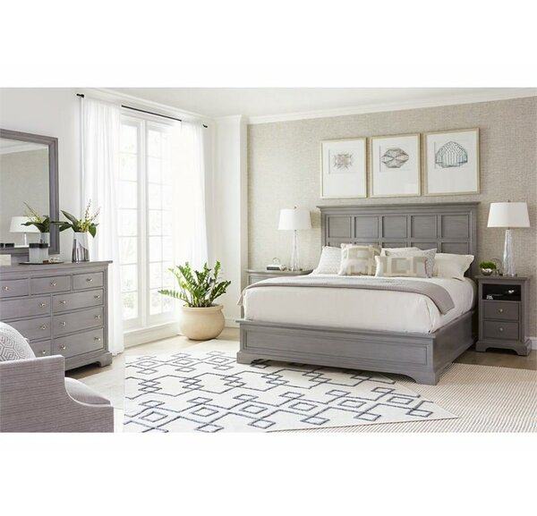 Transitional Panel Configurable Bedroom Set by Sta