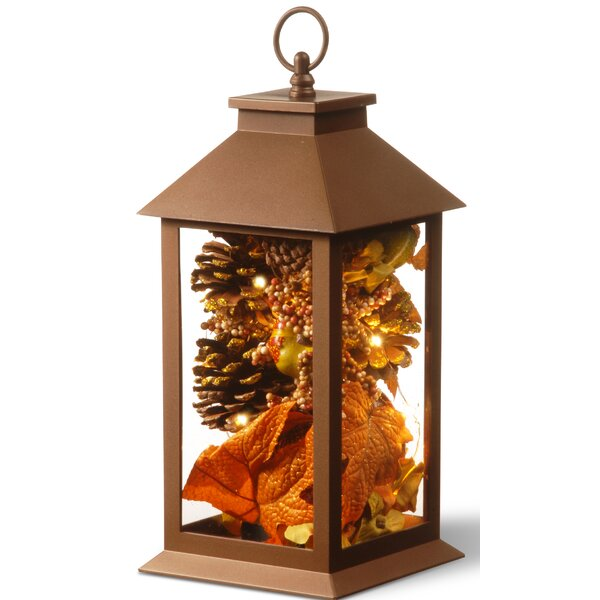Harvest Arrangement in LED Lamp with Matte Finish by The Holiday Aisle