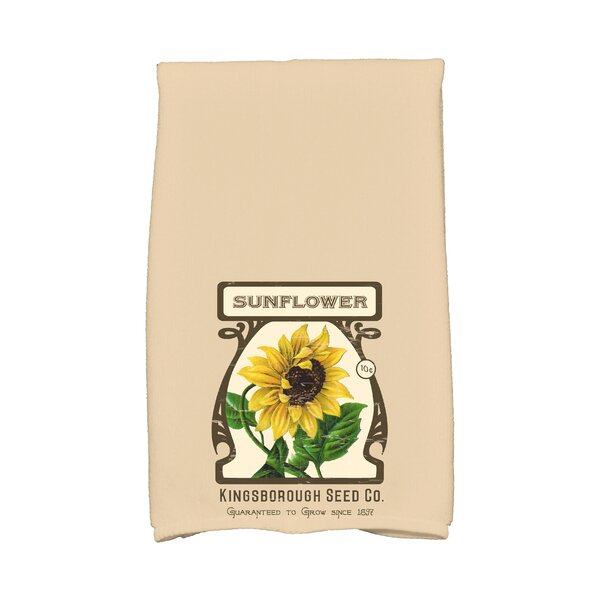 Swan Valley Sunflower Hand Towel by August Grove