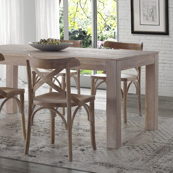 #1 Montauk Solid Wood Dining Table By Grain Wood Furniture Wonderful