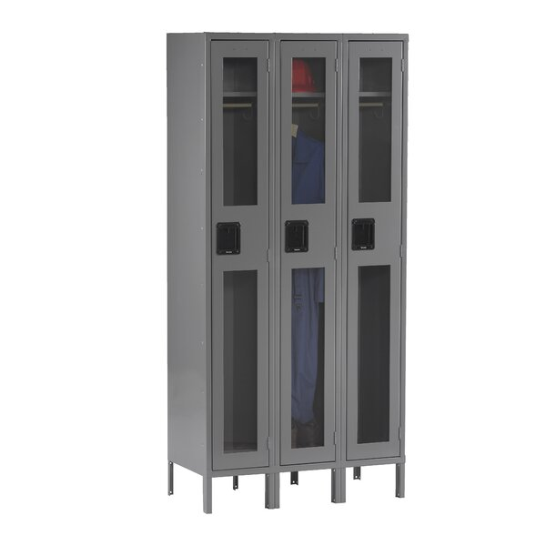 2 Tier 3 Wide Employee Locker by Tennsco Corp.