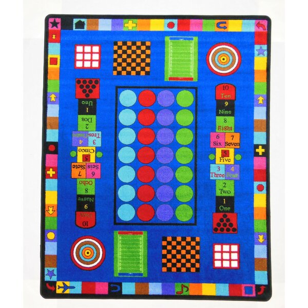 Game Time Area Rug by Kids World Carpets