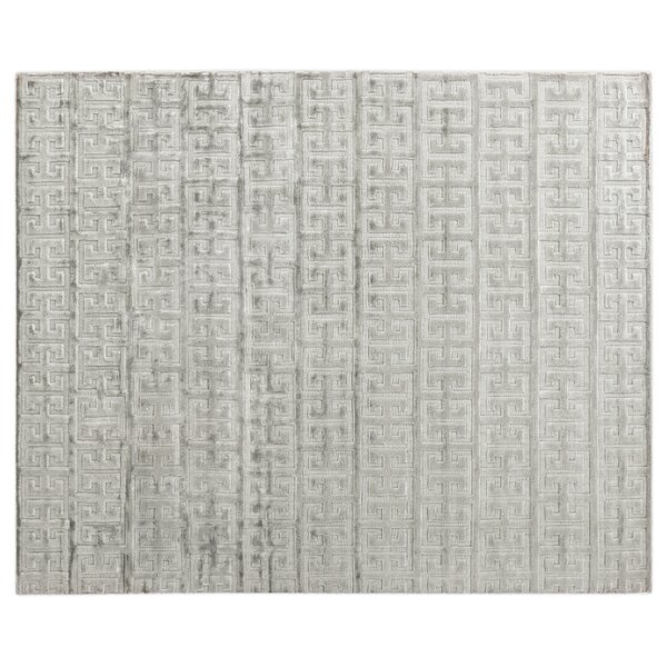 Kingsley Hand Loomed Silver Area Rug by Exquisite Rugs
