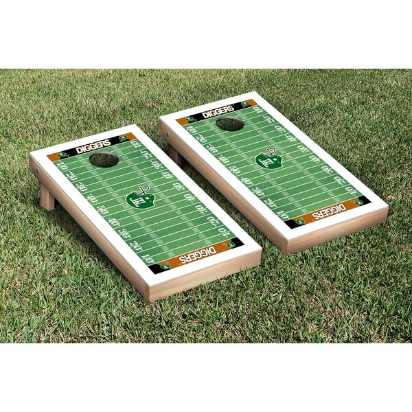 NIAI Montana Tech Orediggers Football Field Version Cornhole Game Set by Victory Tailgate
