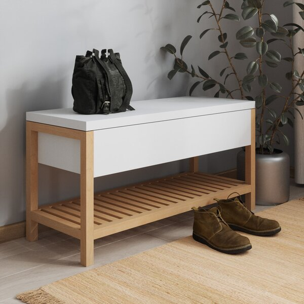 Vina Shoe Storage Bench