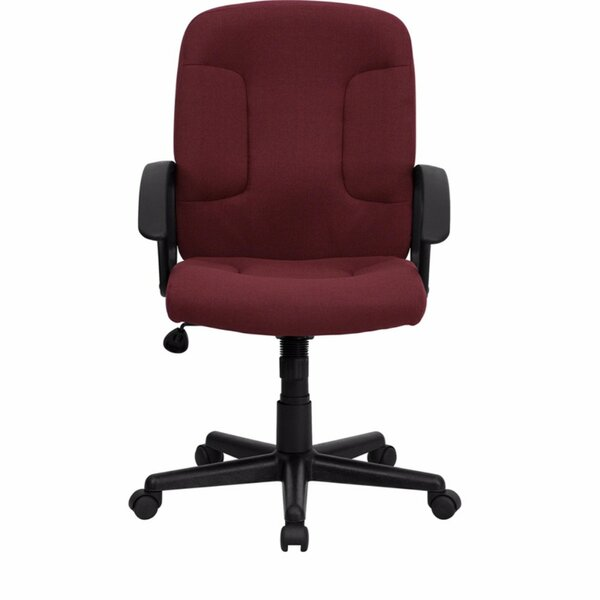 Mid-Back Fabric Executive Chair by Offex