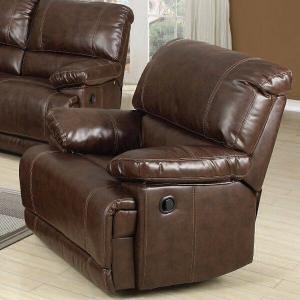 Tadlock Bonded Match Manual Recliner by Red Barrel