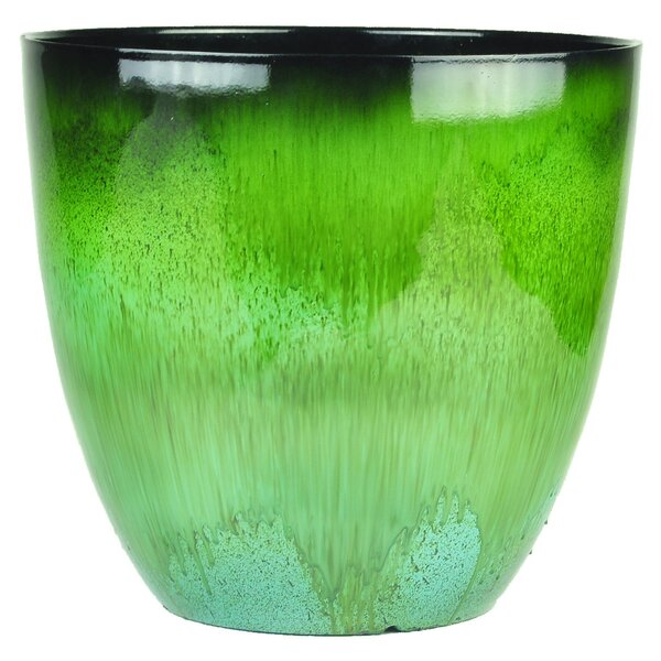 Flower Resin Pot Planter by Gardener Select
