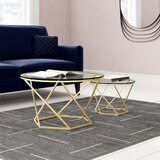 Adrianna Frame 2 Bunching Tables by Everly Quinn