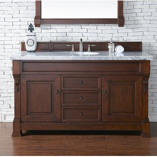Find the perfect Brookfield 60 Single Cabinet Bathroom Vanity Base Only By James Martin Furniture
