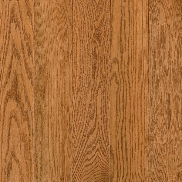 Prime Harvest 5 Solid Oak Hardwood Flooring in Low Glossy Butterscotch by Armstrong Flooring