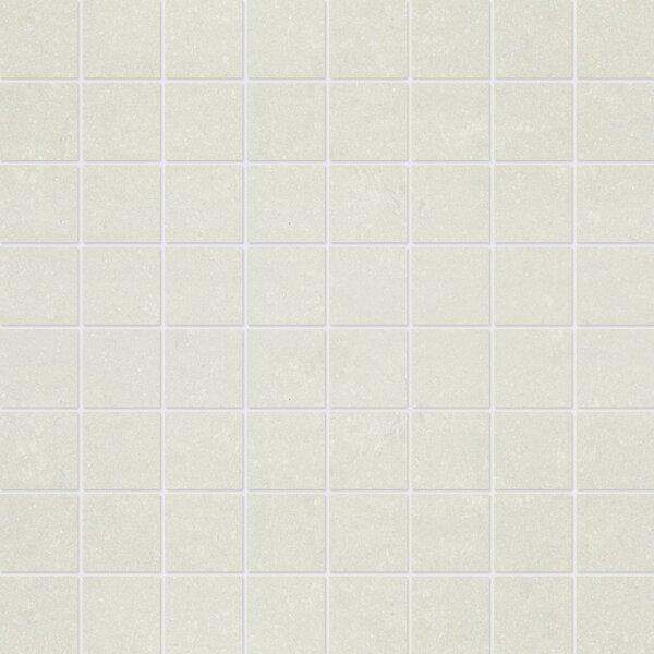 1.5 x 1.5 Porcelain Mosaic Tile in Matte Snow by Parvatile