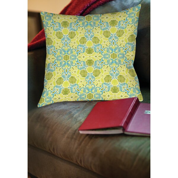 Funhouse 47 Printed Throw Pillow by Manual Woodworkers & Weavers