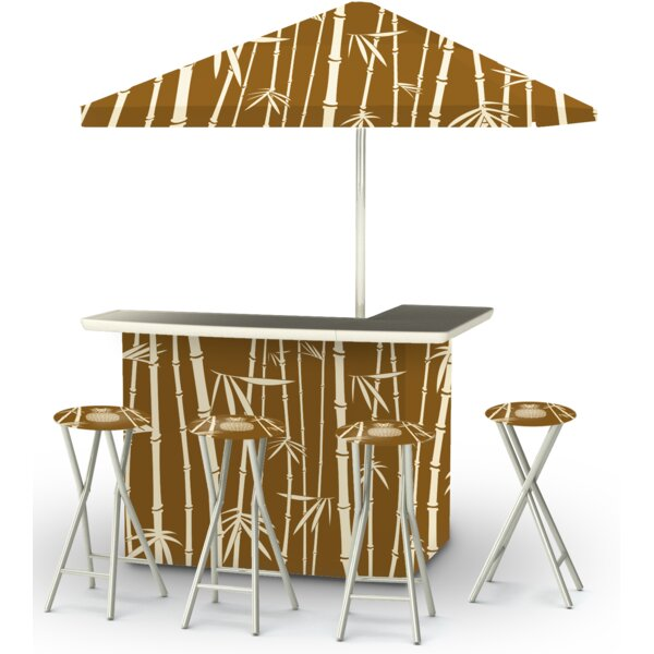 Patio 9 Piece Bar Set by Best of Times Best of Times