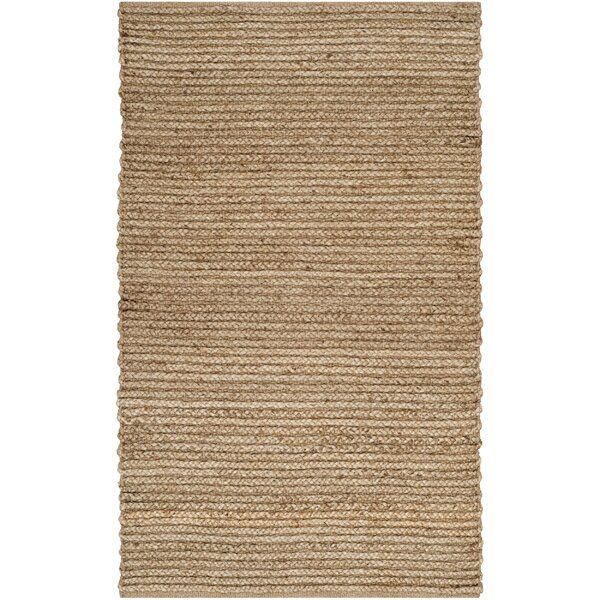 Gilchrist Hand-Woven Brown Area Rug by Beachcrest Home