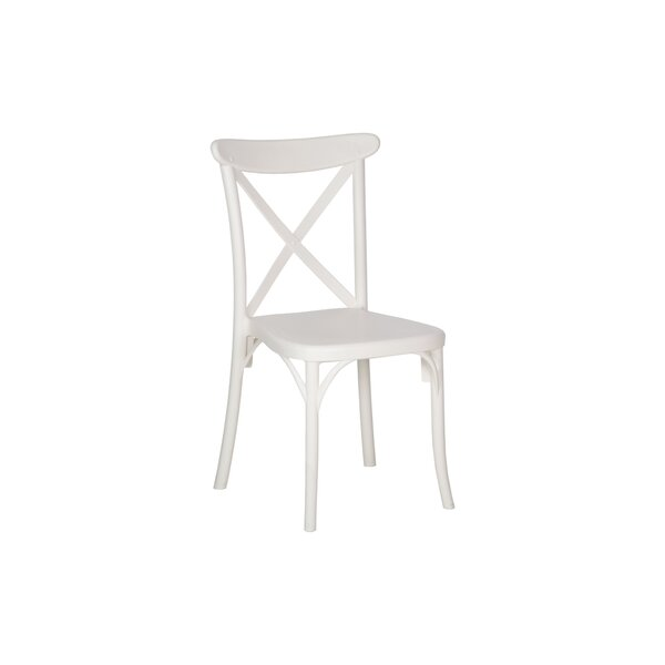 Helina Stackable Dining Chair (Set of 2) by Highland Dunes
