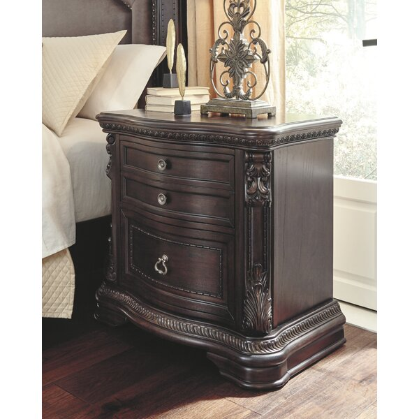 Myra 2 Drawer Nightstand by Astoria Grand