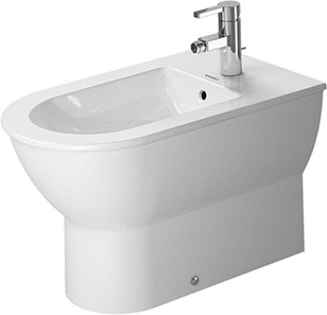 Darling New 15.75 Floor Mount Bidet by Duravit