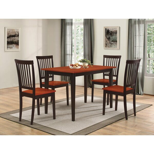 Pattonsburg 5 Piece Dining Set by Gracie Oaks