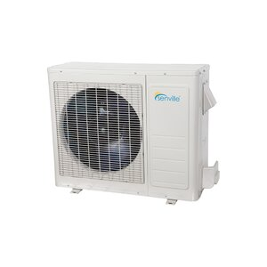 Aura 12,000 BTU Energy Star Ductless Mini Split Air Conditioner with Remote