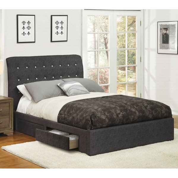 Jaydin Upholstered Platform Bed by Latitude Run