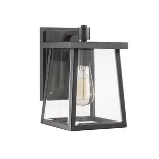 Best Reviews Dunnigan Transitional Outdoor Wall Lantern By Breakwater Bay