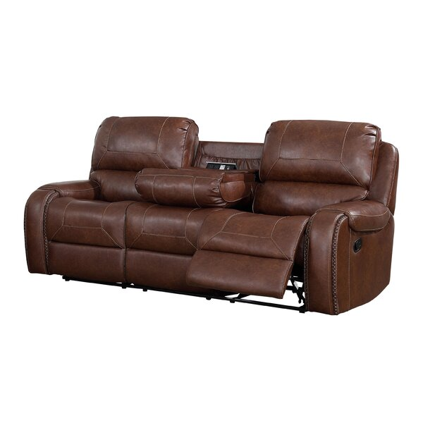 Eberhardt Reclining Sofa By Winston Porter