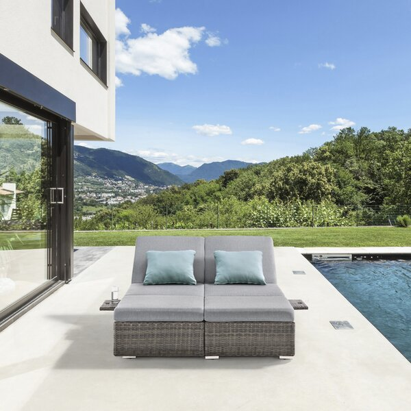 Nadia Patio Daybed with Cushions by Ove Decors