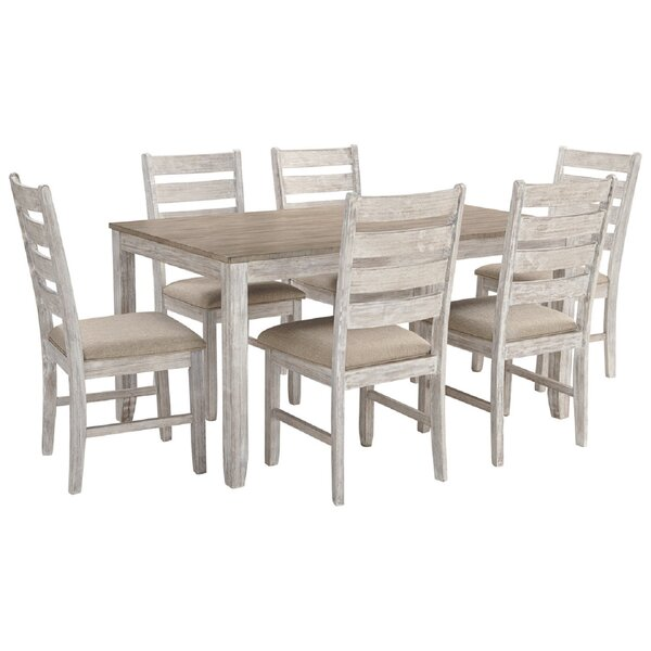 Brittany 7 Piece Dining Set by One Allium Way