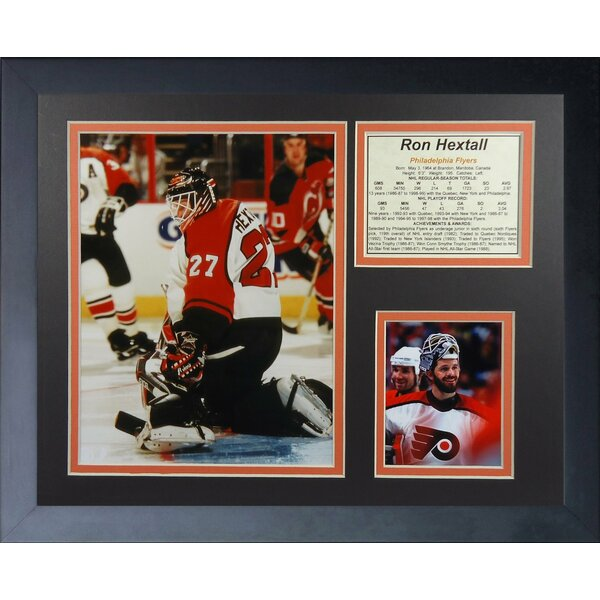 Ron Hextall Philadelphia Flyers Framed Memorabilia by Legends Never Die