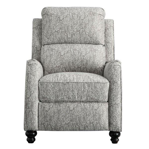 Eamon Upholstered Push Back Manual Recliner [Red Barrel Studio]