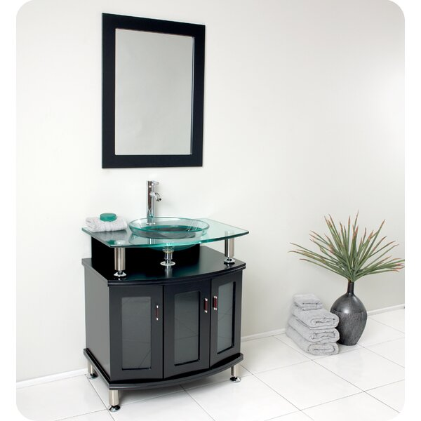 Classico Contento 30 Single Bathroom Vanity with Mirror by Fresca