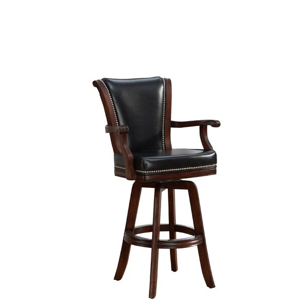 Buckner 32 Swivel Bar Stool by Darby Home Co